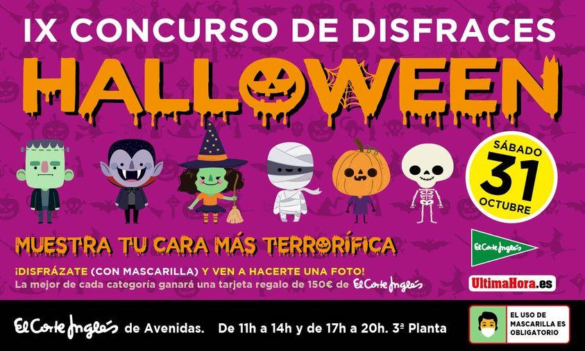 IX Concurso de disfraces de Halloween