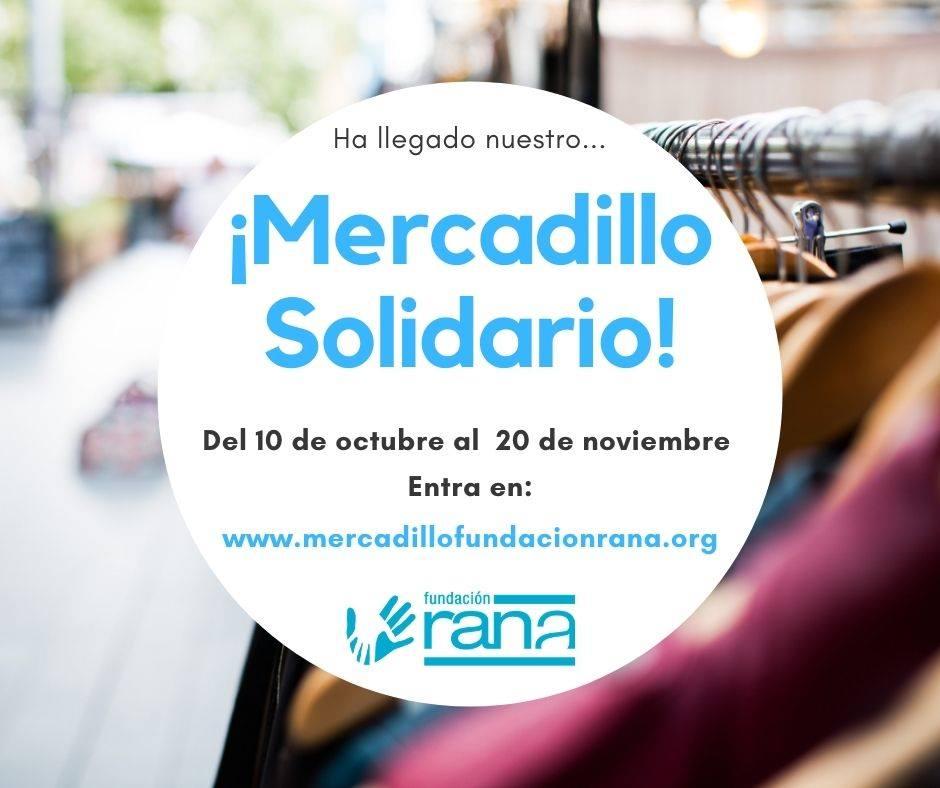 Mercadillo Solidario RANA