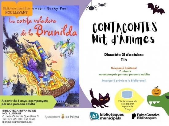 Nit d'Ànimes: La catifa voladora de la Brunilda