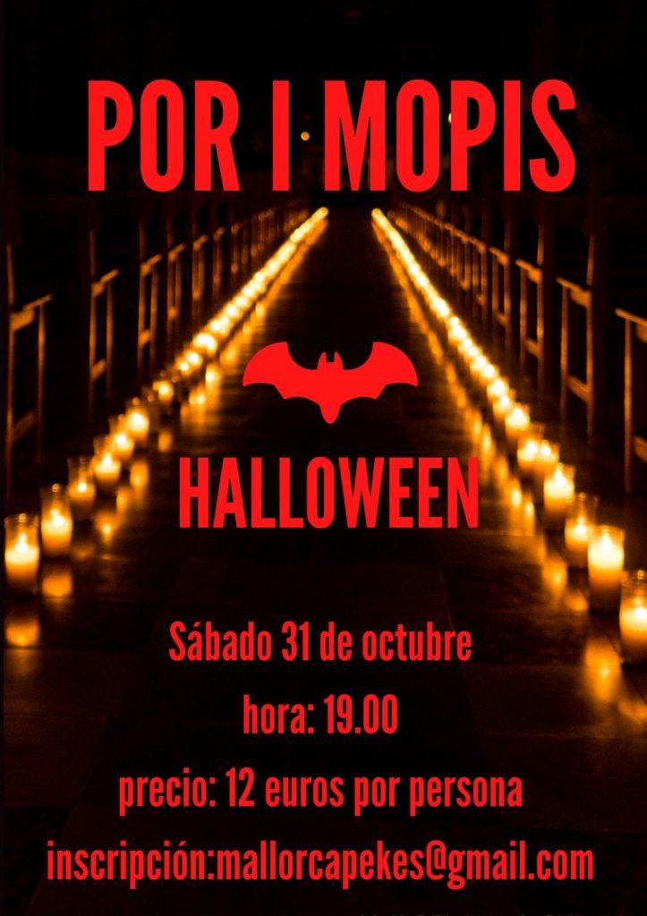 Por i Mopis. Halloween