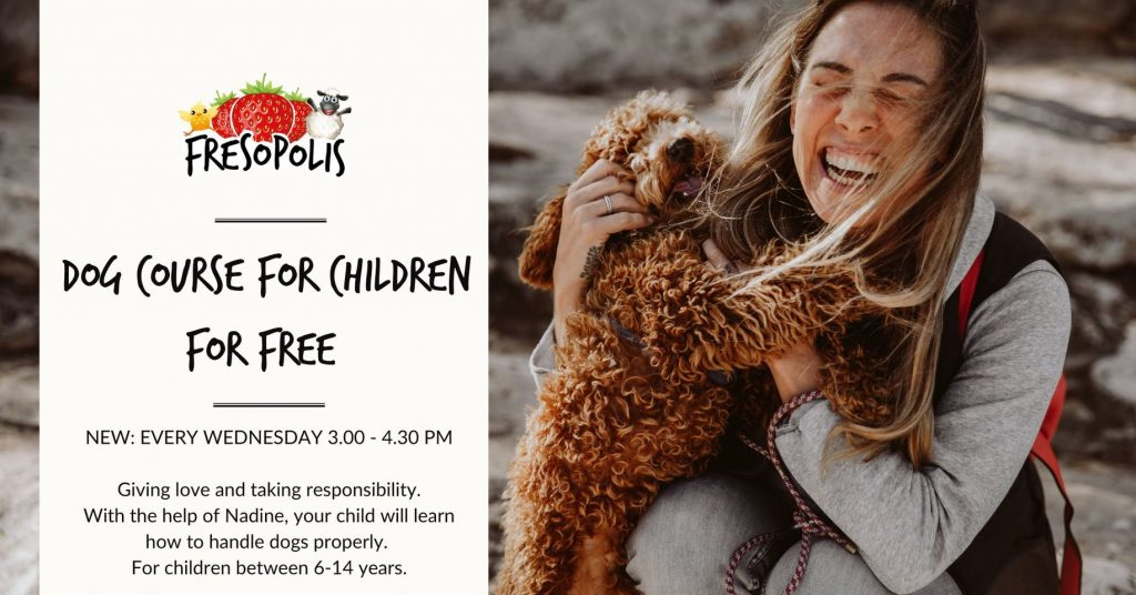 Dog course for children
