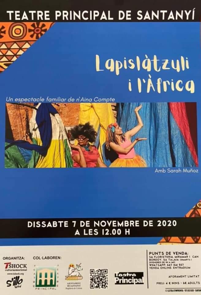 Lapislàtzuli i l'Àfrica