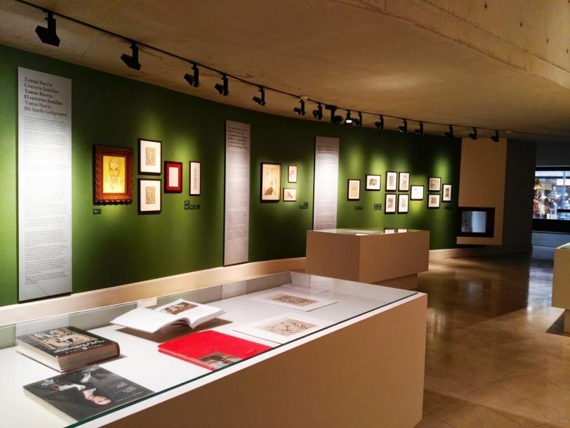 Taller de grabado alrededor de la exposición alrededor de la exposición Tomás Harris