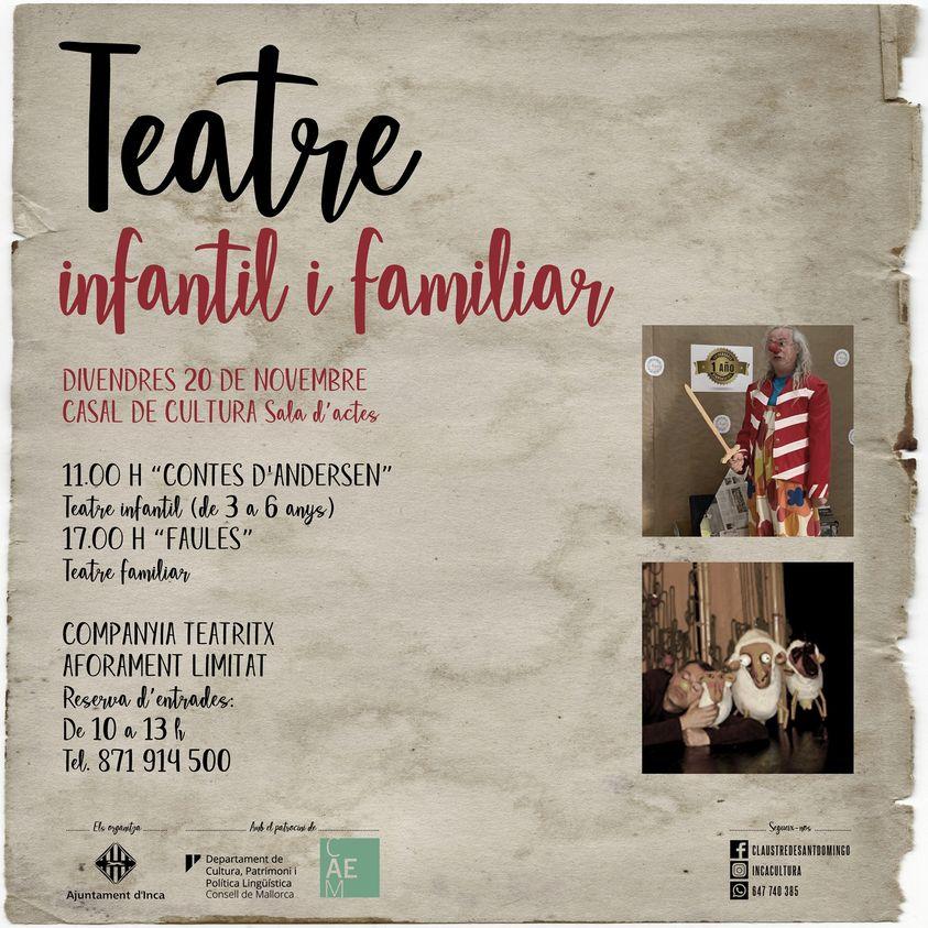 Teatre infantil i familiar