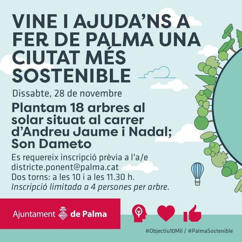 Vine i ajuda'ns a fer de Palma una ciutat més sostenible