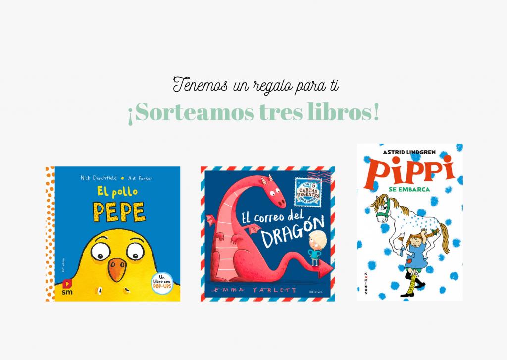 Sorteo de tres libros (2)