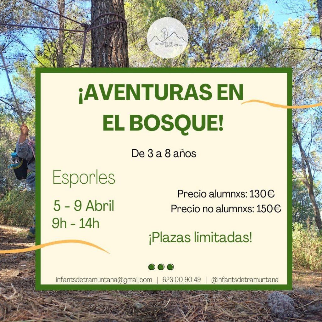 ¡Aventuras En El Bosque!