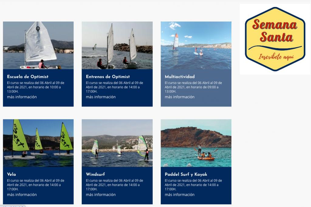Escuela de vela Puerto Portals