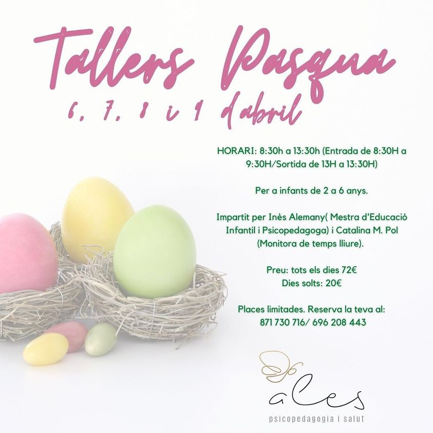 Tallers de Pasqua