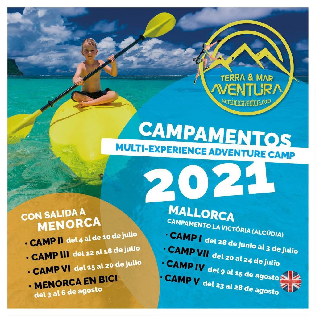 Campamentos Multi-Experience Adventure Camp 2021