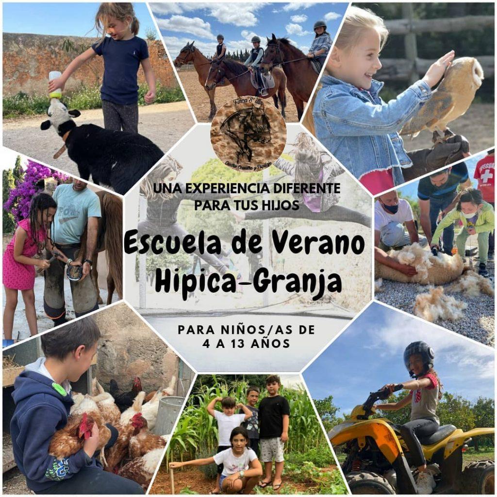 Escuela de verano Hípica y Granja Finca s´Illa