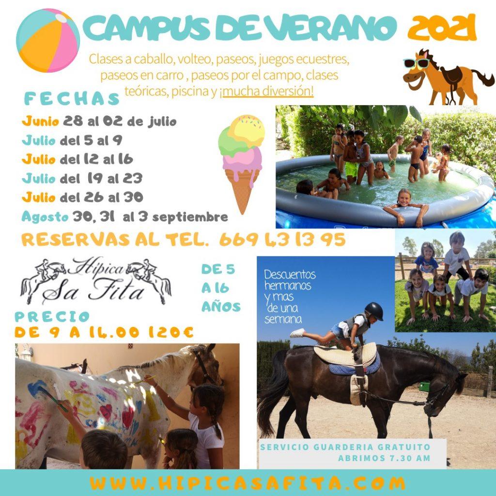 Hípica Sa Fita Campus de Verano 2021
