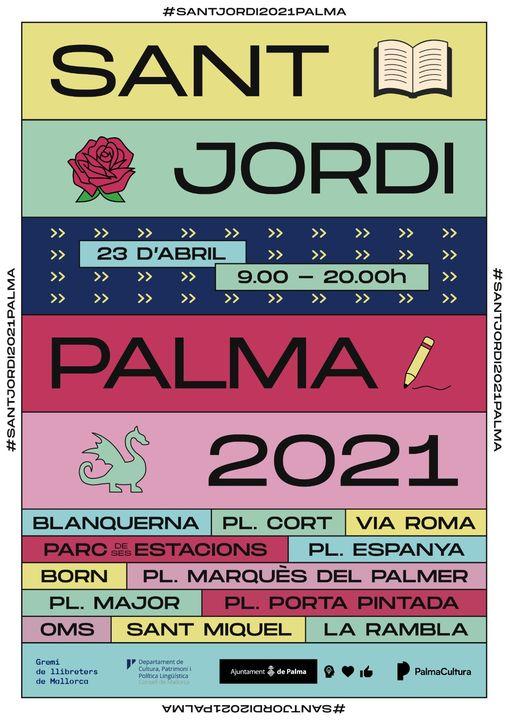 Sant Jordi 2021 Palma