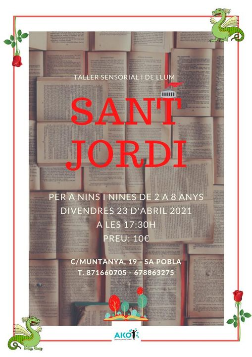 taller Sant Jordi