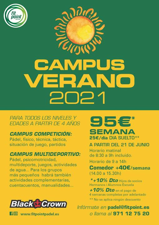 Campus Verano 2021 - Fit Point