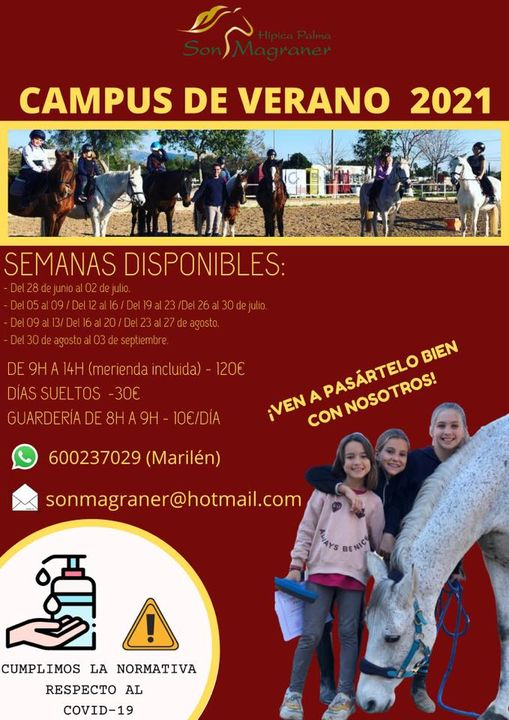 Campus de verano - Hípica Palma Son Magraner