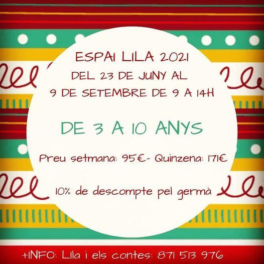 Espai Lila 2021- Lila i els contes