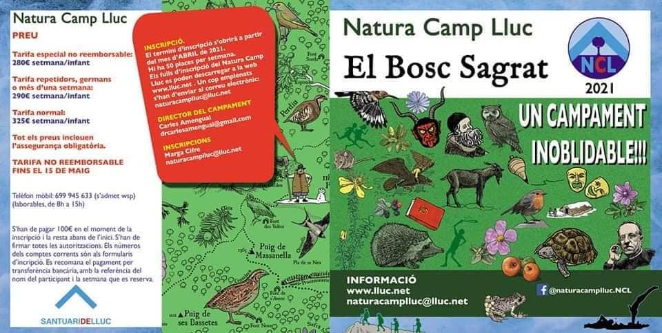 Natura Camp Lluc