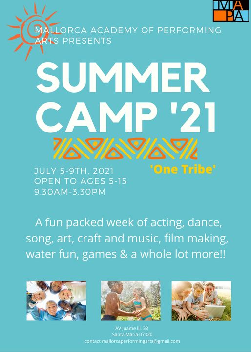 Summer Camp - Mallorca Academy of Performing Arts