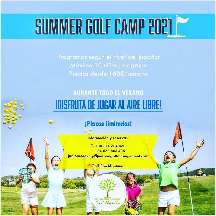 Summer Golf Camp - Golf Son Muntaner