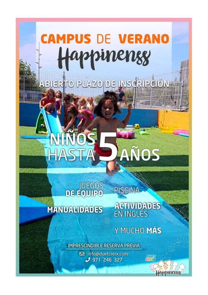 Campus de verano - Happinenss