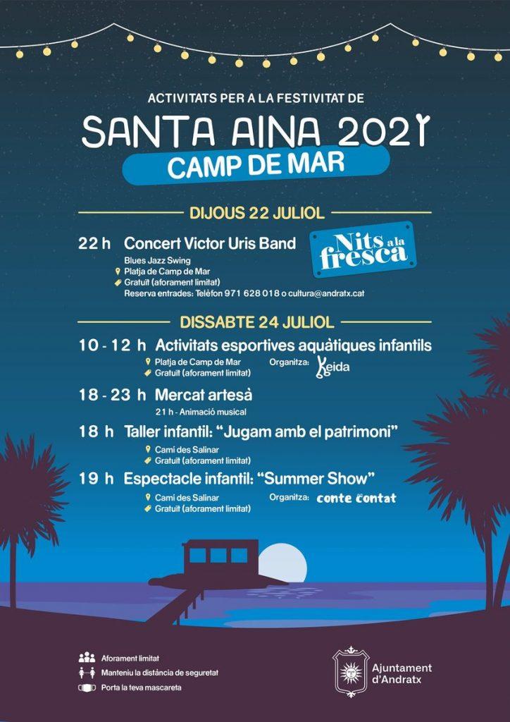 Santa Aina 2021 - Camp de mar
