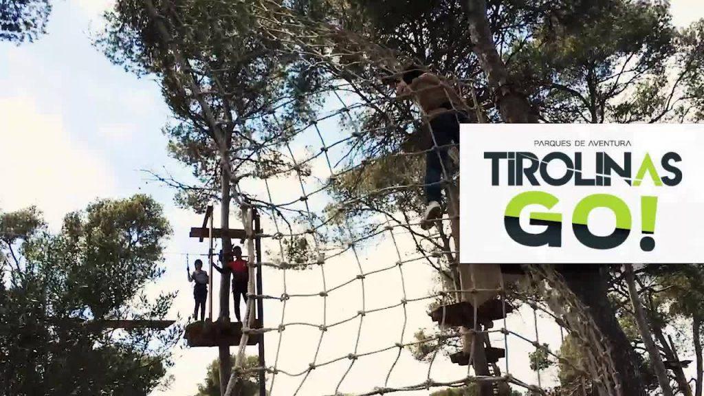 Tirolinas Go! Parque aventuras