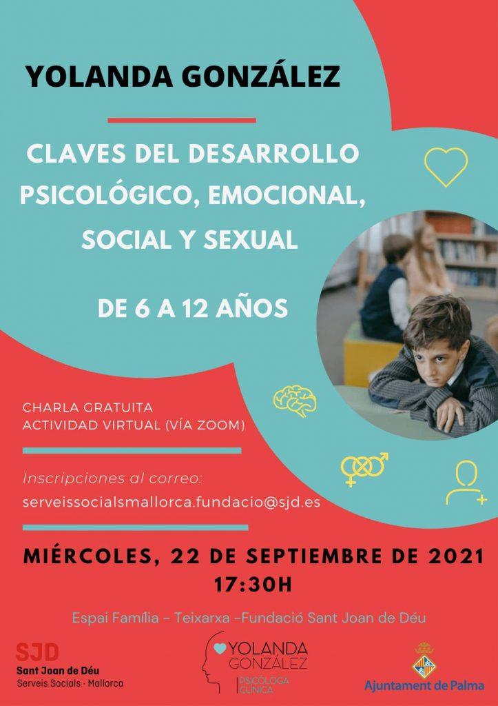 Claves del desarrollo psicológico, emocional, social y sexual de 6 a 12 años